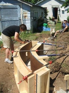 Clifton's Rammed Earth Blog » Blog Archive » Vancouver Garden ...